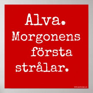 Signboard - Alva Poster