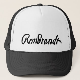 Signed by Rembrandt Hat