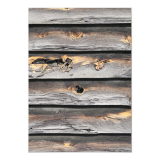 signed by the weather as old wood background magnetic invitations