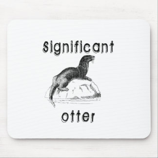 Significant Otter Mouse Mat