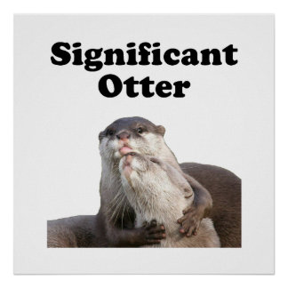 Significant Otter Poster