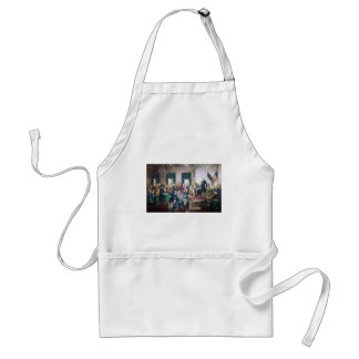 Signing of the Constitution by Howard C. Christy Adult Apron