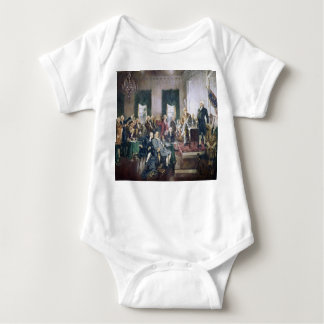 Signing of the Constitution by Howard C. Christy Baby Bodysuit