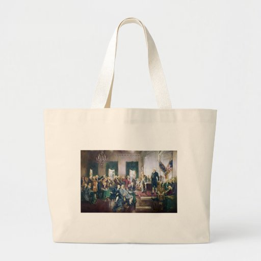 Signing of the Constitution by Howard C. Christy Tote Bags