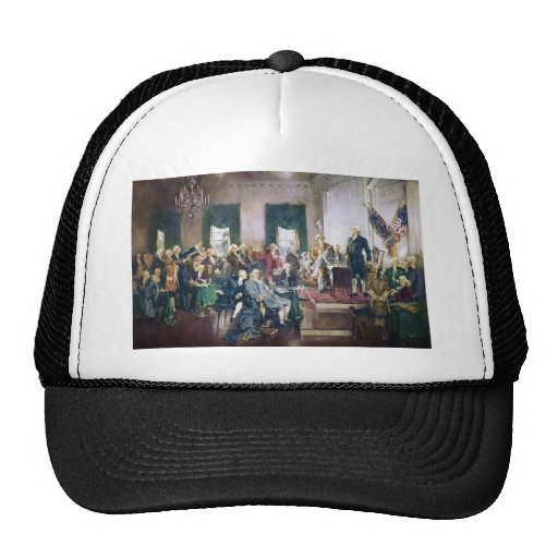 Signing of the Constitution by Howard C. Christy Trucker Hat