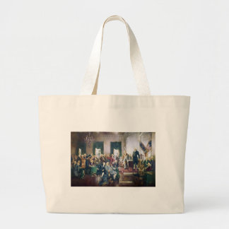 Signing of the Constitution by Howard C. Christy Jumbo Tote Bag