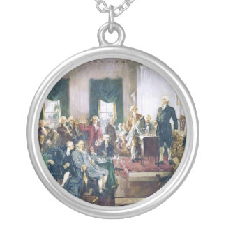 Signing of the Constitution by Howard C. Christy Pendants