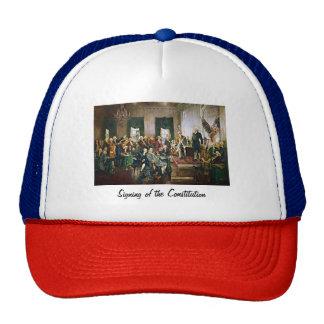 Signing of the Constitution Cap