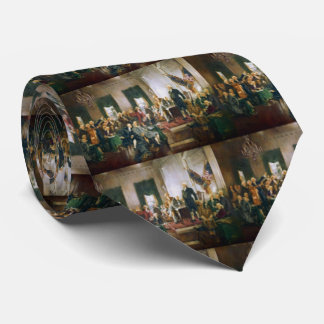 Signing of the Constitution Double Sided Tie