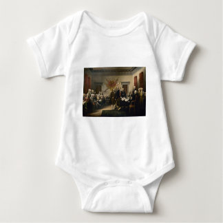 Signing of the Declaration of Independence Baby Bodysuit