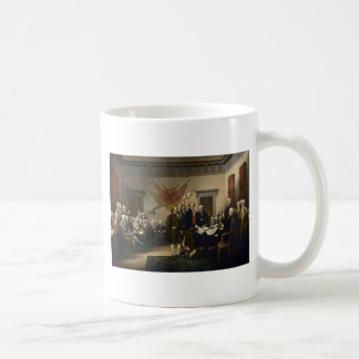 Signing of the Declaration of Independence Coffee Mugs