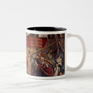 Signing of the Magna Carta, 1215 Two-Tone Coffee Mug
