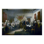 Signing The Declaration Of Independance