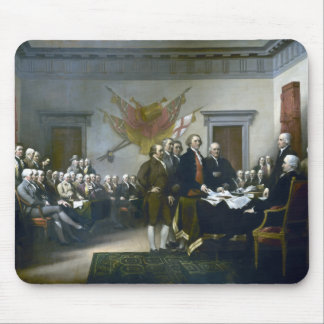 Signing The Declaration Of Independance Mouse Pad