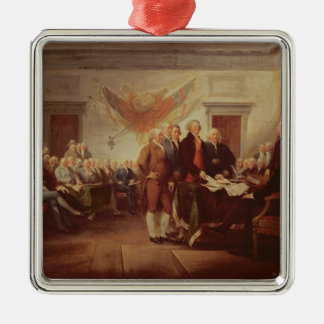 Signing the Declaration of Independence, 4th Christmas Ornament