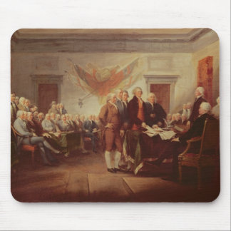 Signing the Declaration of Independence, 4th Mouse Mat