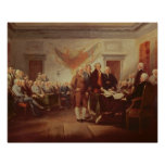 Signing the Declaration of Independence, 4th Posters
