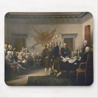 Signing the Declaration of Independence, July 4th Mouse Pad