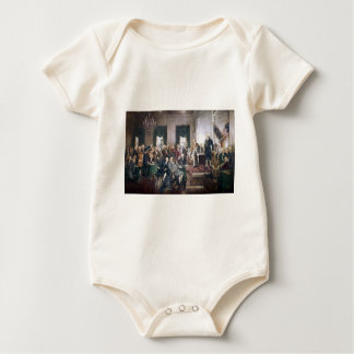 Signing the US Constitution by Christy Baby Bodysuit