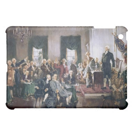 Signing the US Constitution by Christy iPad Mini Cases