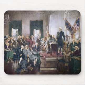 Signing the US Constitution by Christy Mouse Pad