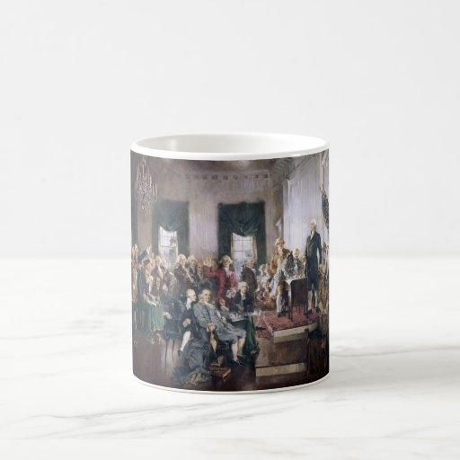 Signing the US Constitution by Christy Mugs