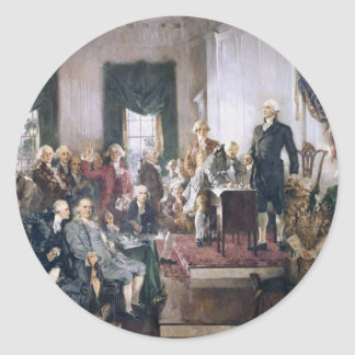 Signing the US Constitution by Christy Stickers