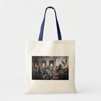 Signing the US Constitution by Christy Canvas Bags