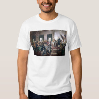 Signing the US Constitution by Christy Tshirt