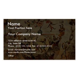 Signorita Galetti Pack Of Standard Business Cards