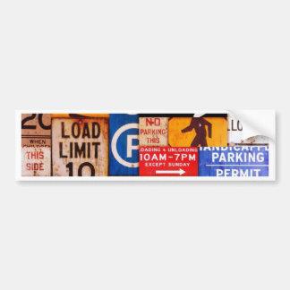 Signs Bumper Sticker