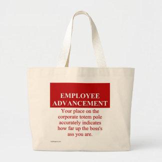 Signs of Employee Advancement (3) Jumbo Tote Bag