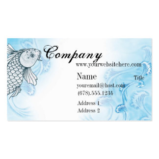 signs of Koi Pack Of Standard Business Cards