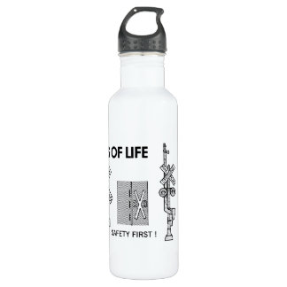 Signs Of Life at Railroad Crossings 710 Ml Water Bottle