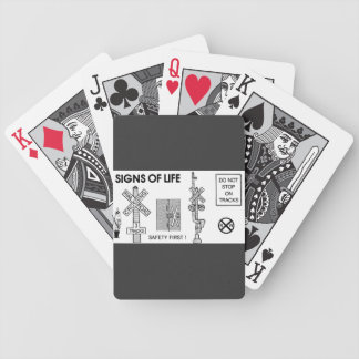 Signs Of Life at Railroad Crossings Card Deck