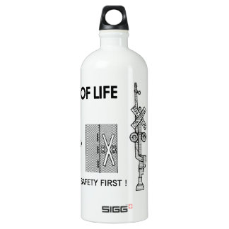Signs Of Life at Railroad Crossings SIGG Traveler 1.0L Water Bottle