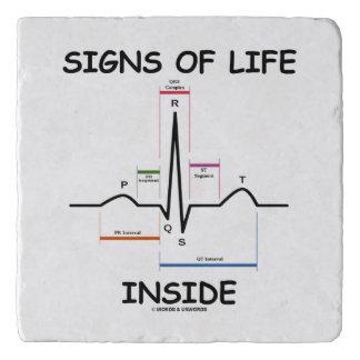 Signs Of Life Inside EMT Medical Heartbeat Humor Trivet