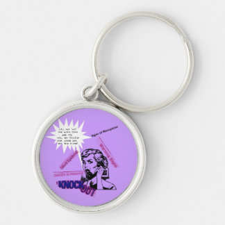 Signs Of Menopause Keychain