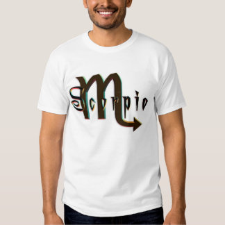 Signs Of The Zodiac - Scorpio T Shirts