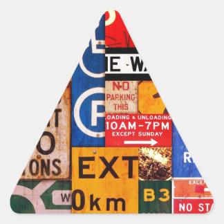 Signs Triangle Sticker