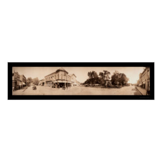 Sigourney Iowa Photo 1908 Poster