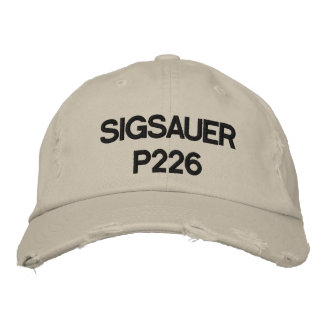 SIGSAUER P226 EMBROIDERED HAT