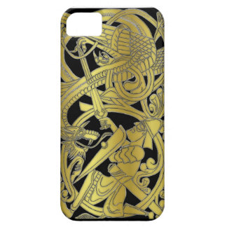 Sigurd Gold on Black iPhone iPhone 5 Cases