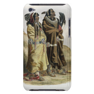 Sih-Chida and Mahchsi-Karehde, Mandan Indians, pla iPod Touch Covers