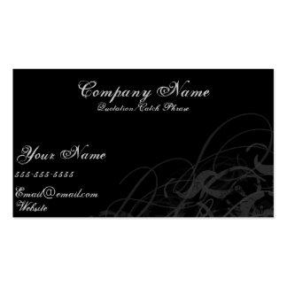 Siimple Black Business Card