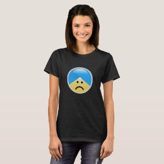 Sikh American Sad Turban Emoji T-Shirt