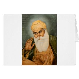 Sikh Art/Symbol Greeting Card