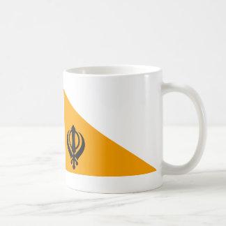 Sikh Flag Basic White Mug