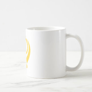 Sikh Khanda Gold Basic White Mug