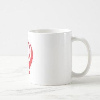Sikh Khanda Red Basic White Mug